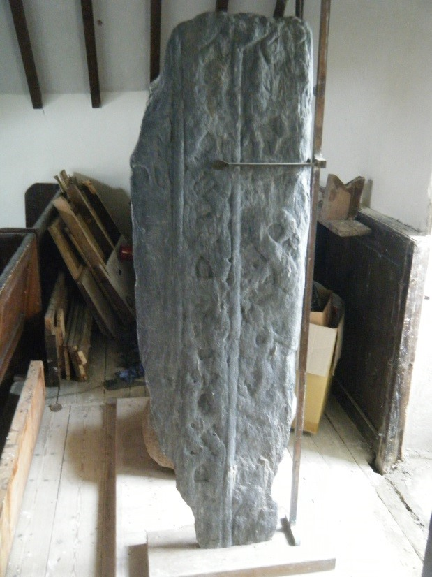 The ancient monuments will be more accessible in Malew Church thanks to a grant from Manx Lottery Trust
