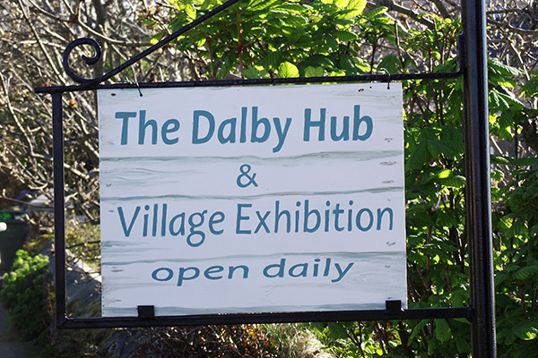 Dalby Community Hub sign 600x400px